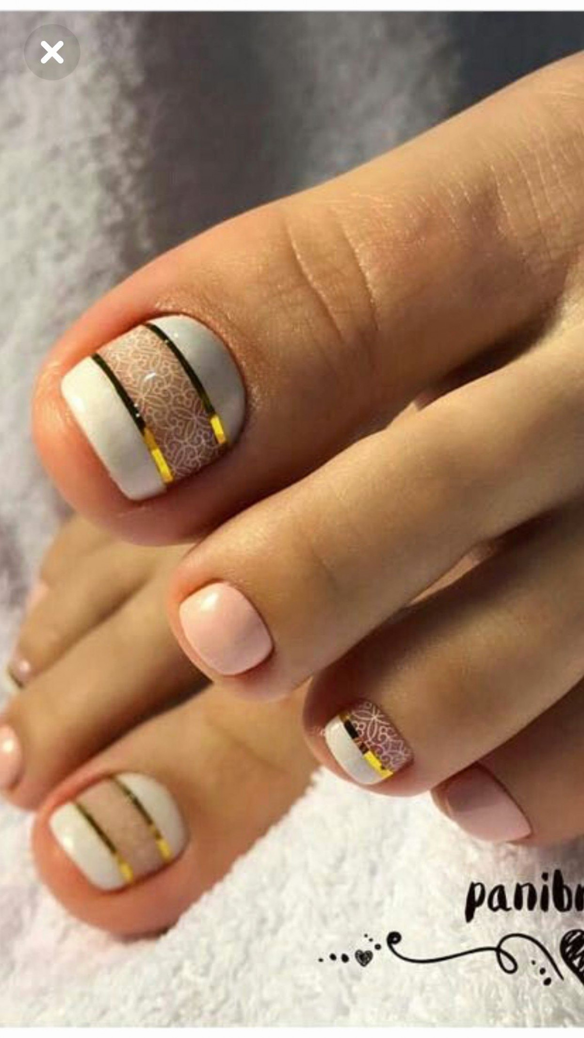 10 Best Of Nail Designs for toes - Gel toe Nail Designs Beautiful