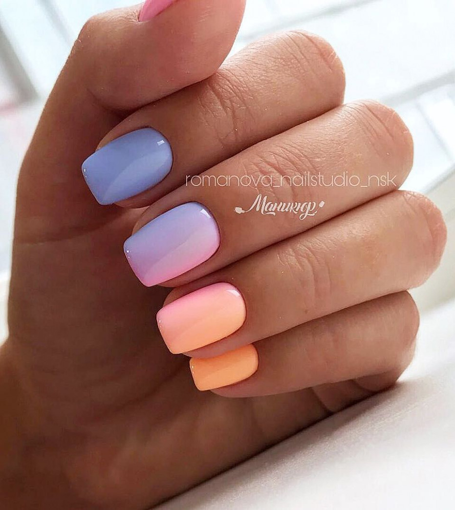 10+ Nail Art Designs and Ideas 10  Nail art ombre, Ombre nail