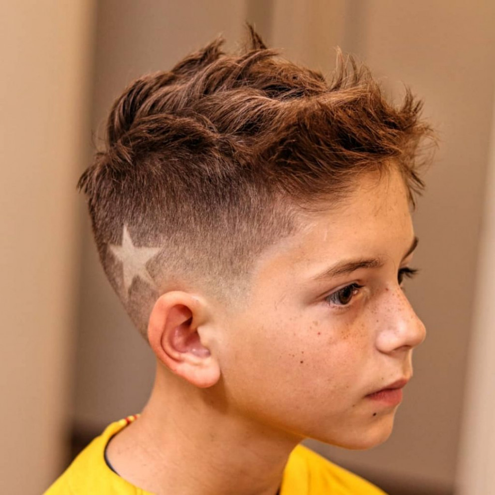 11 Boy's Haircuts From Short To Long + Cool Fade Styles For 11