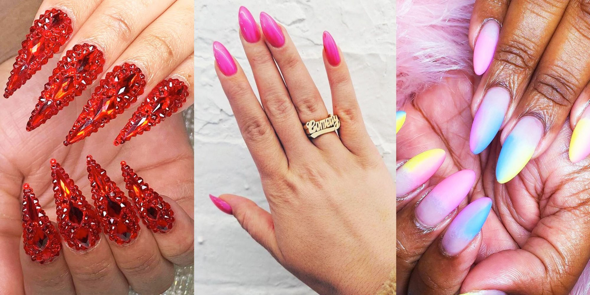 11 Cool Stiletto Nail Designs - Best Long and Short Stiletto Nail
