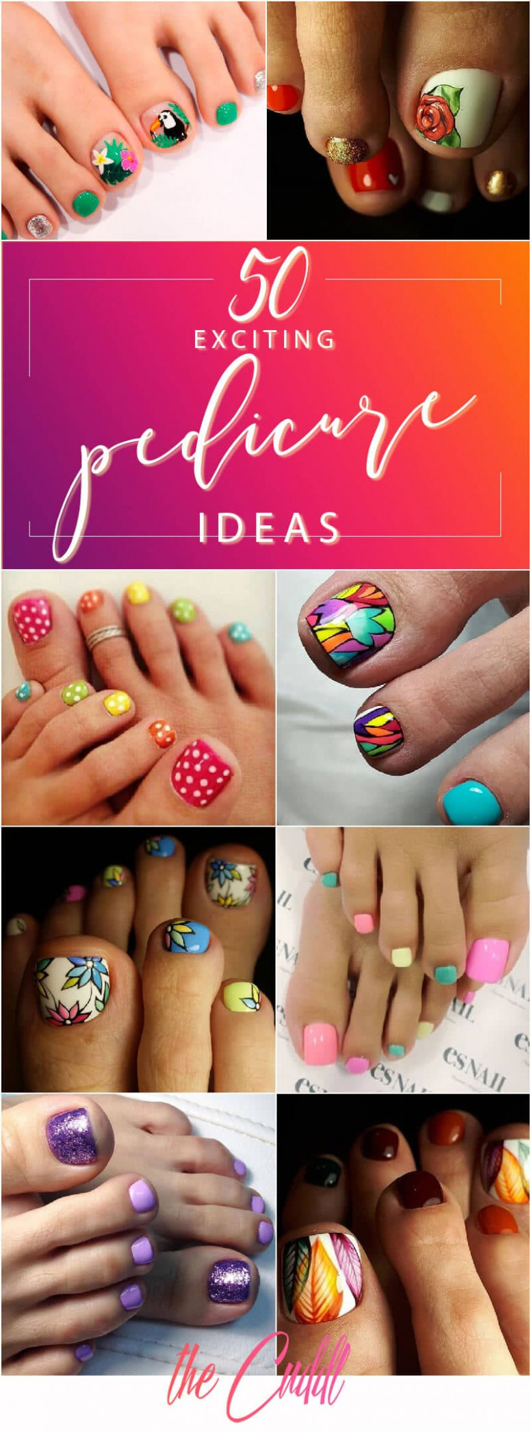 11 Exciting Pedicure Ideas to Shake Things Up