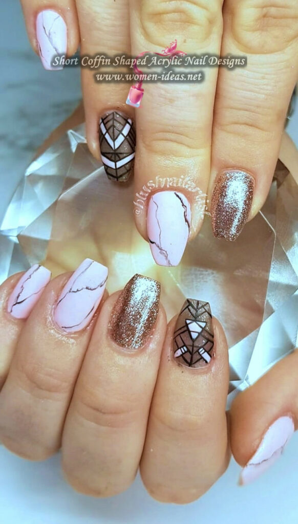 Best Acrylic Nail Ideas Coffin Shape
