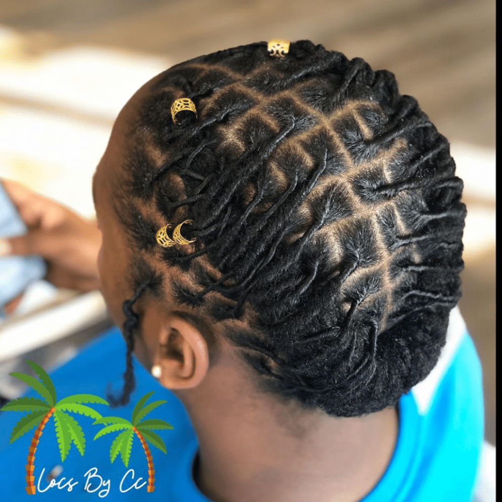 12 Absolutely Gorgeous Loc Styles for Women  Page 12 of 12
