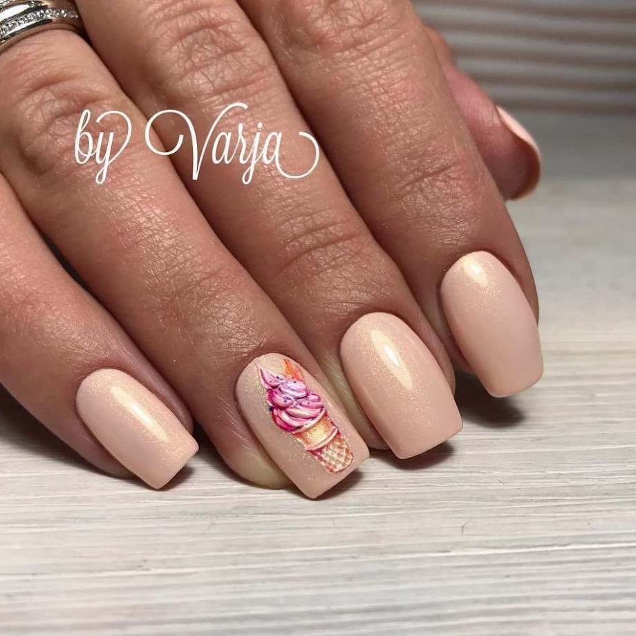 8 Cool Ice Cream Nail Designs For Summer  Style VP  Page 8