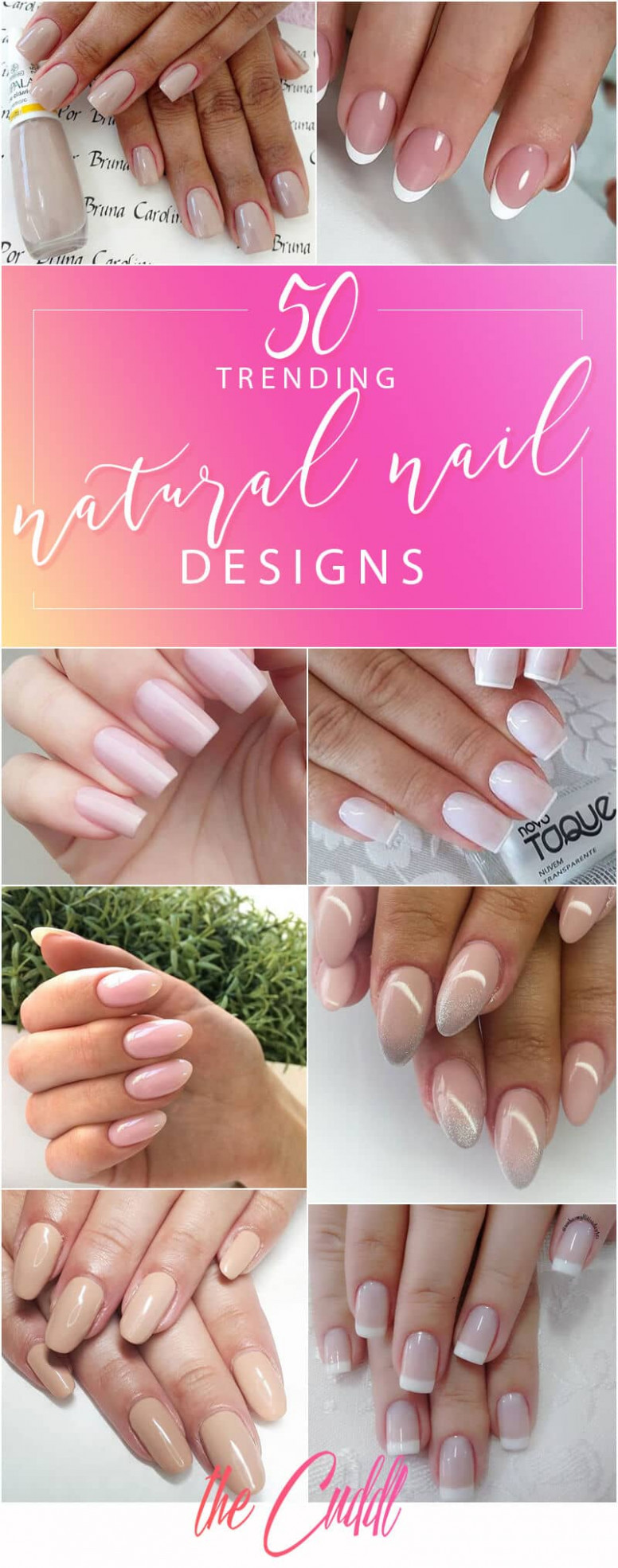 9 Best Natural Nail Ideas and Designs Anyone Can Do From Home