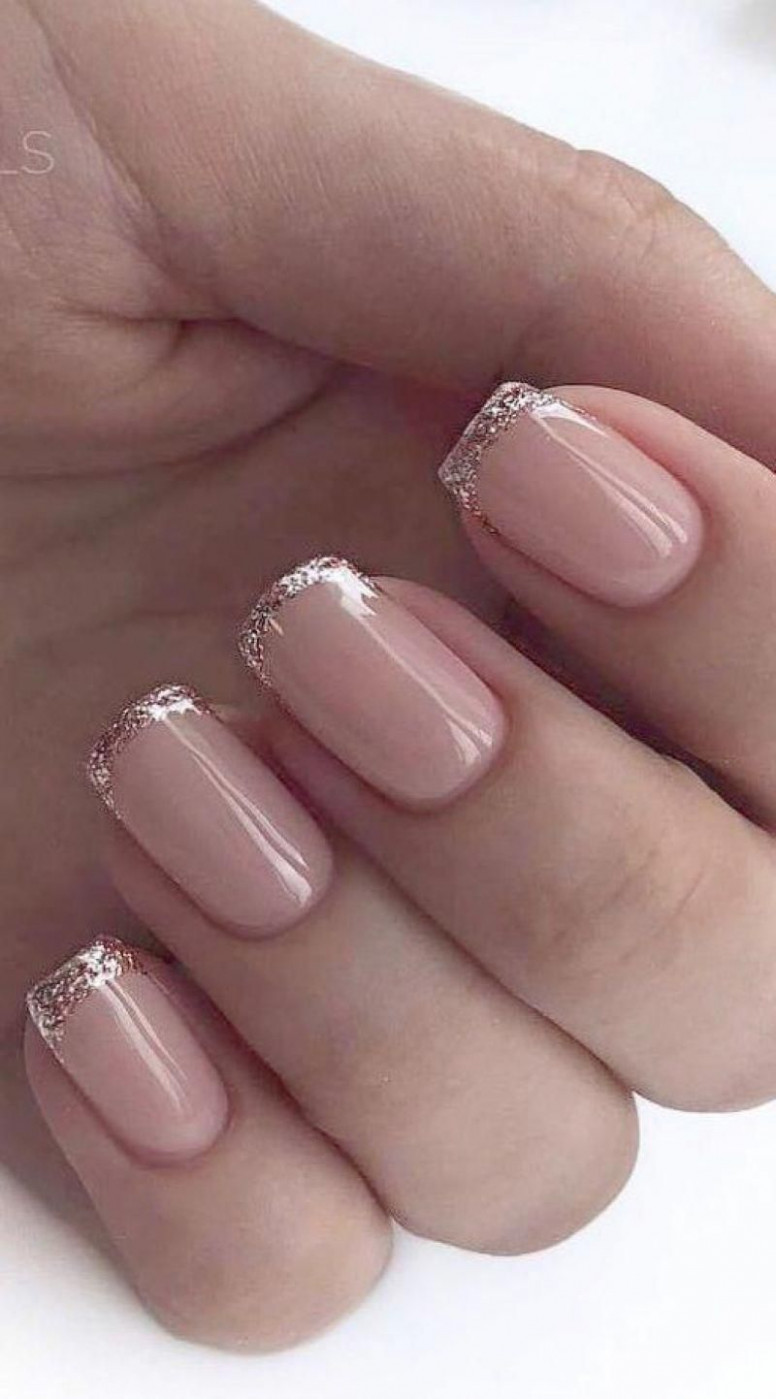 9 Best Natural Nails Ideas You Can Do at Home - Fashionnita