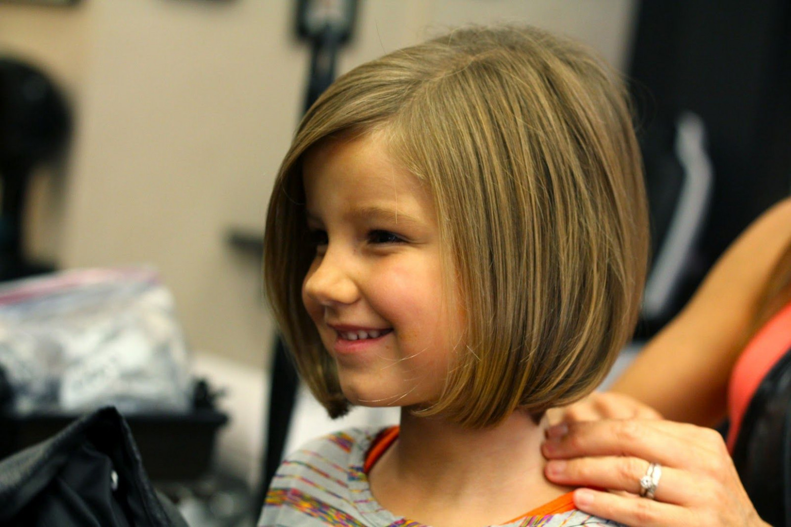as the noonday: 8st Day of Kindergarten  Little girl haircuts
