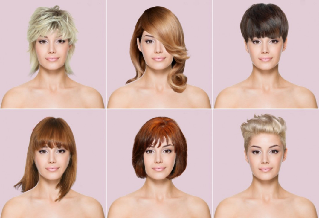 Computer Hairstyles - App for virtual hair makeovers