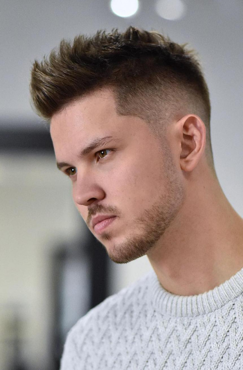 Handsome And Cool – The Latest Men's Hairstyles for 12