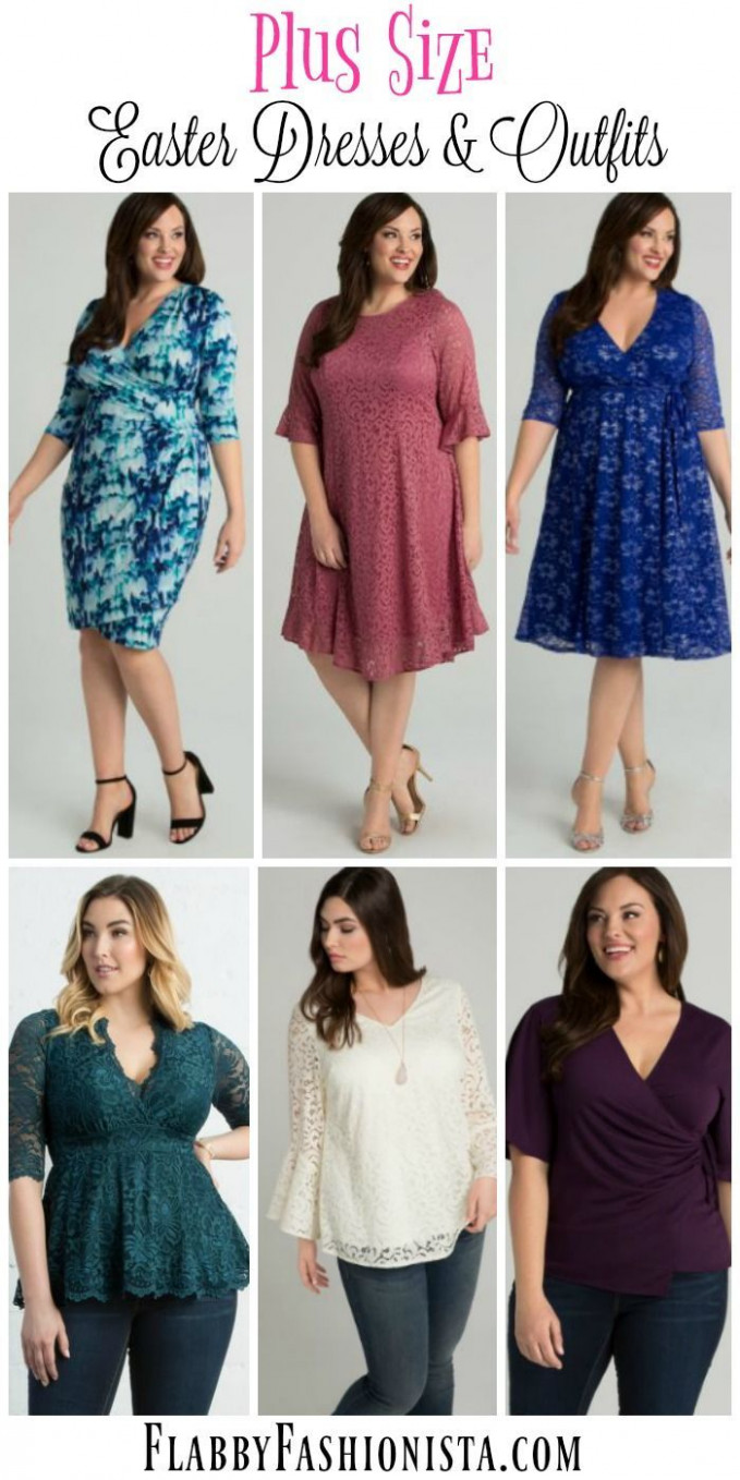 Plus Size Easter Dresses & Plus Size Easter Outfits That Will Wow