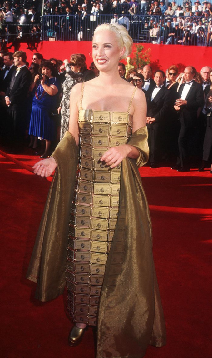 These Are the 12 Craziest Oscars Gowns Ever  Who What Wear