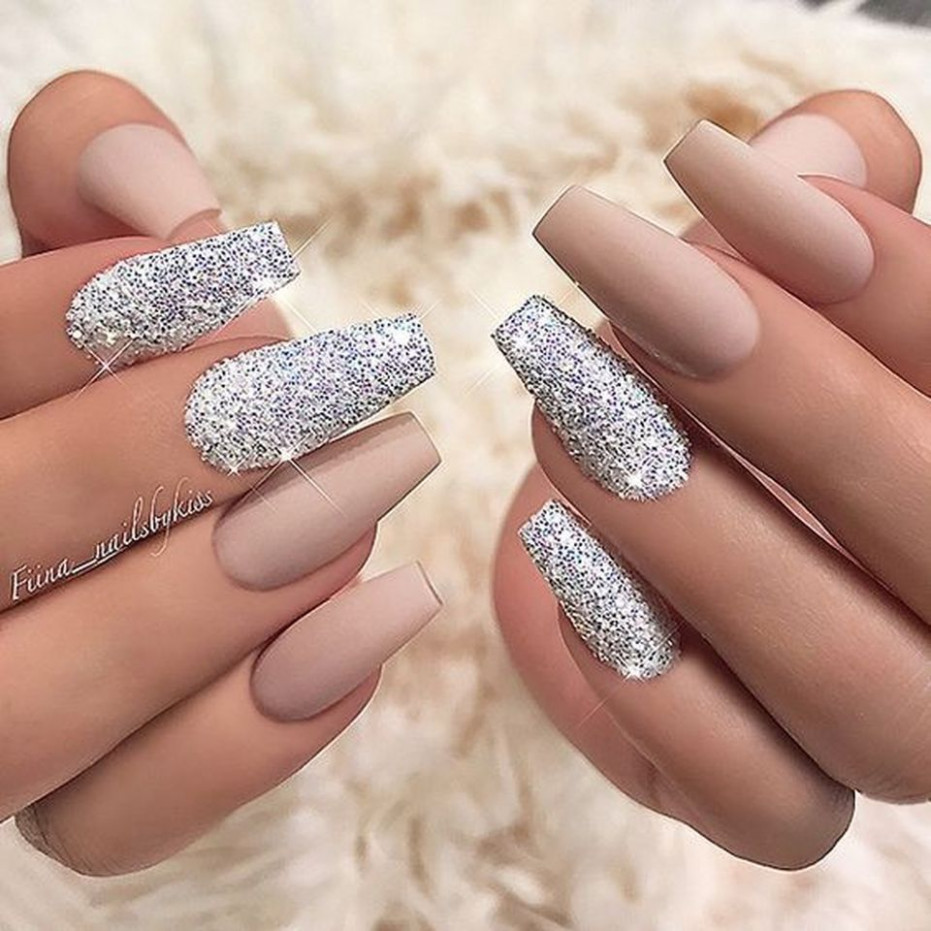 This Sweet acrylic nails ideas for winter 10 image is part from