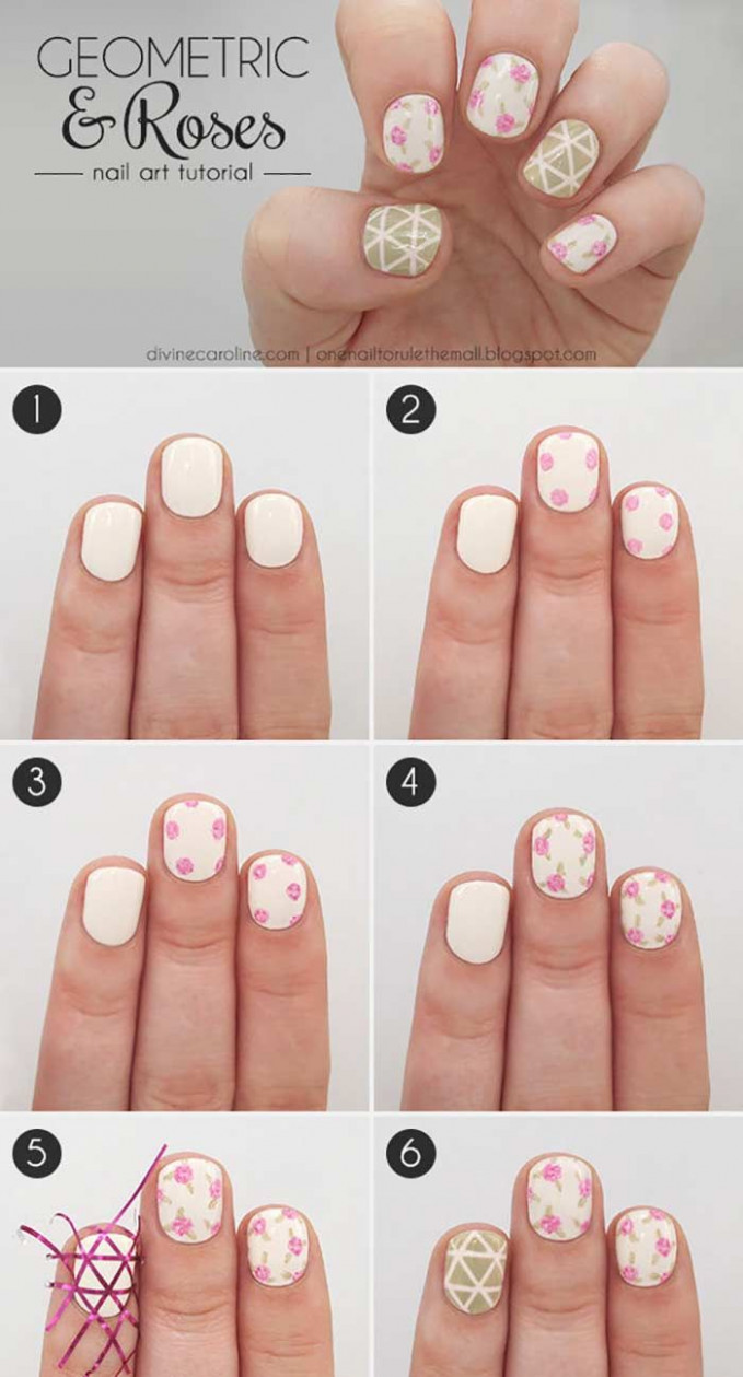 Top 12 Easy Nail Designs For Short Nails - 12 Update  Simple
