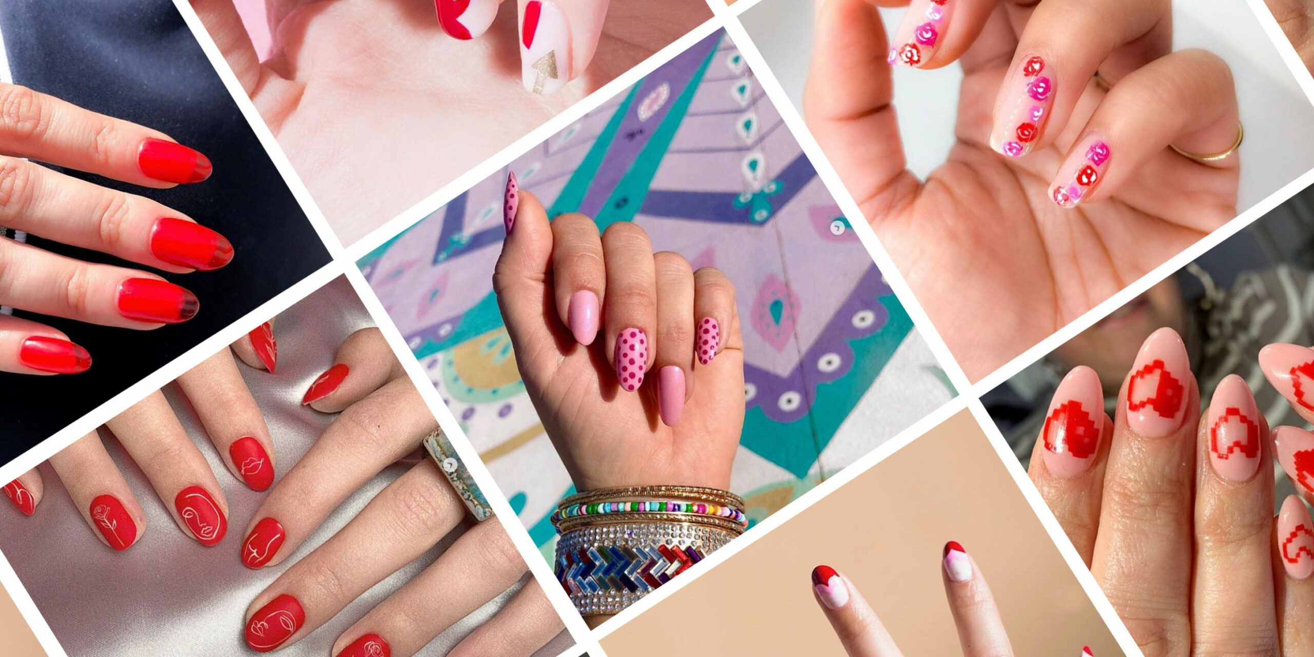 Valentine's Day Nail Art 8 - Cute Manicure Ideas for V-Day