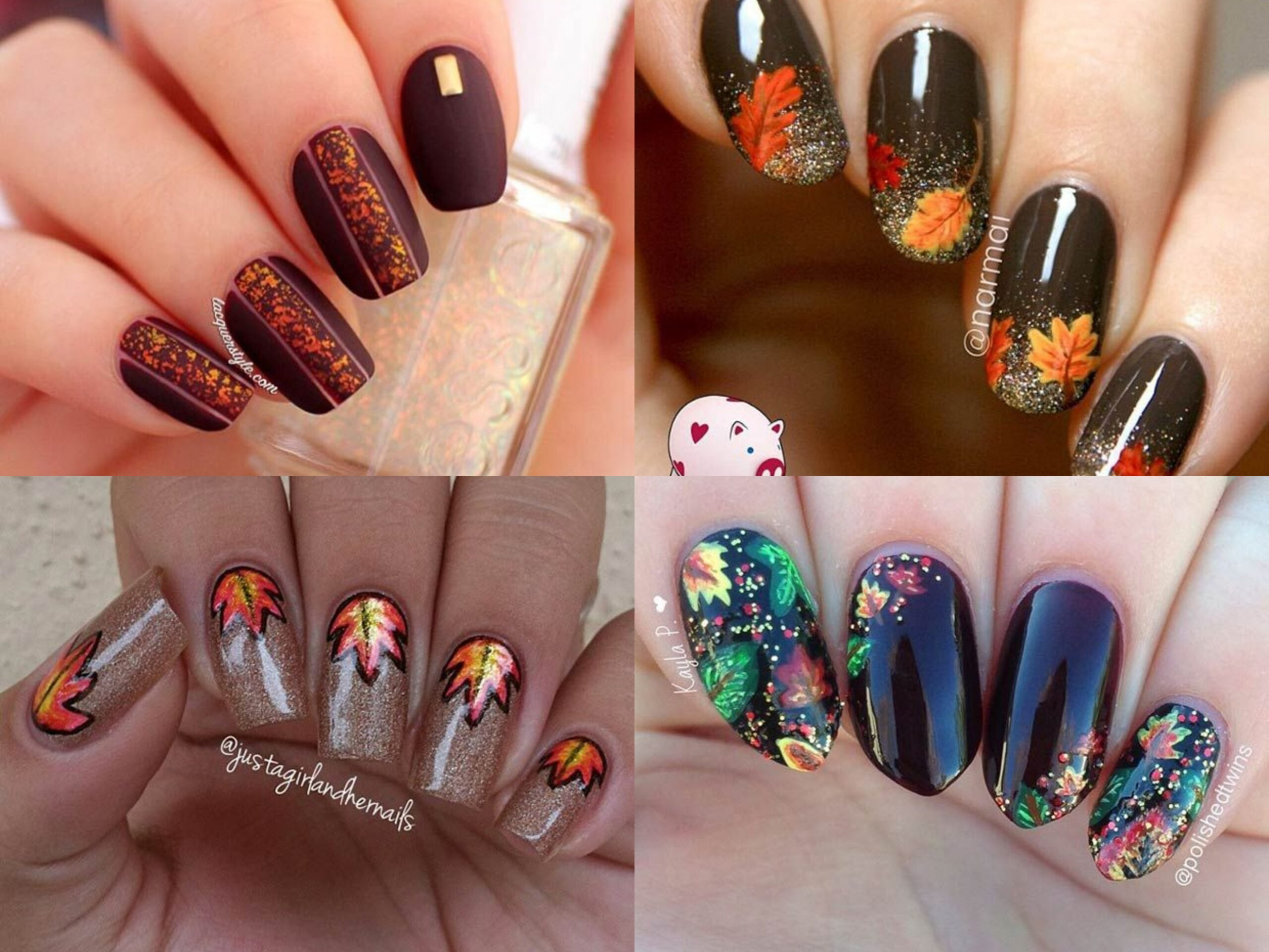 10 Cool Nail Designs to Try This Fall  Top Fashion News