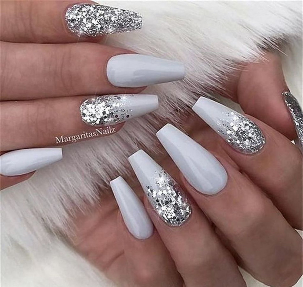 10+ Cute Prom Nails Ideas To Rock On Your Special Day  Nail art