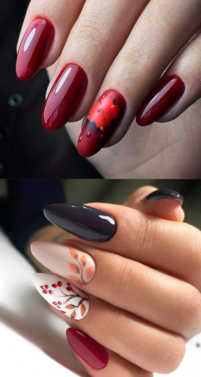 ▷ 10+ ideas For Fall Winter Nail Designs 10 Edition
