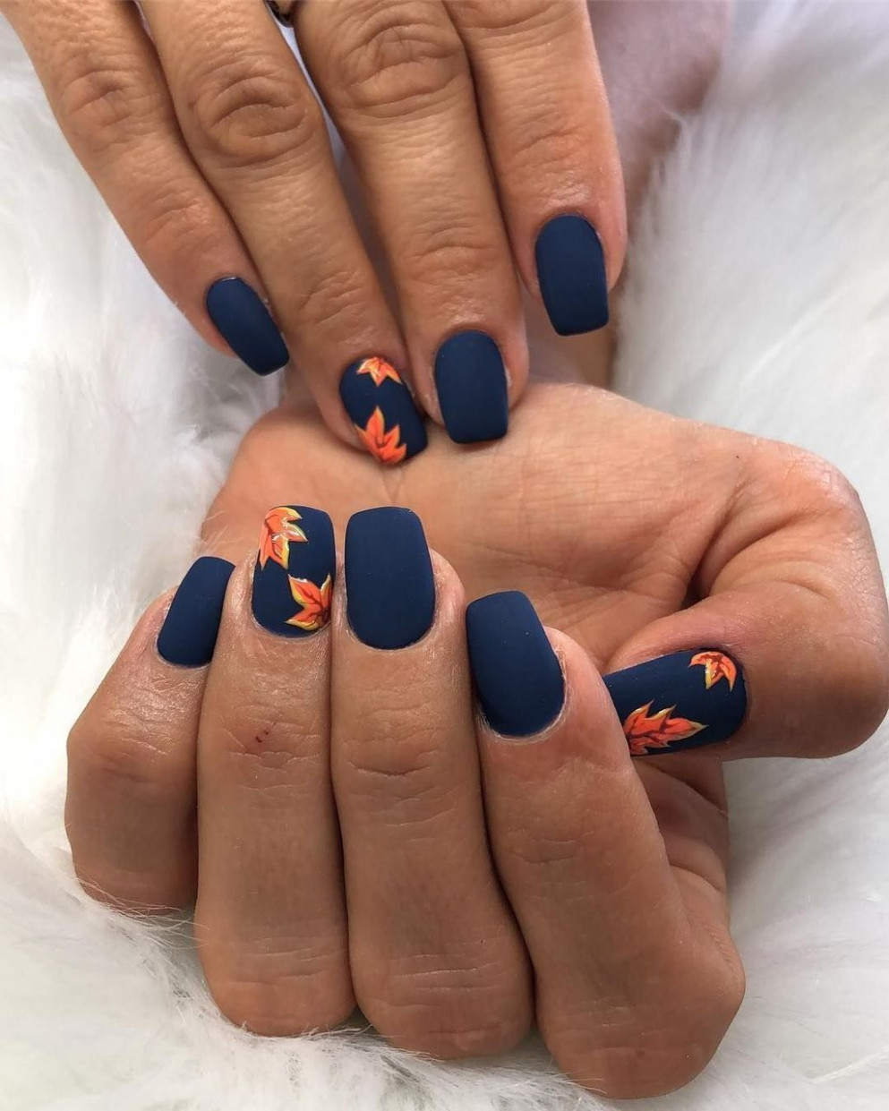 10 Outstanding Fall Nails Designs Ideas That Make You Want To Copy