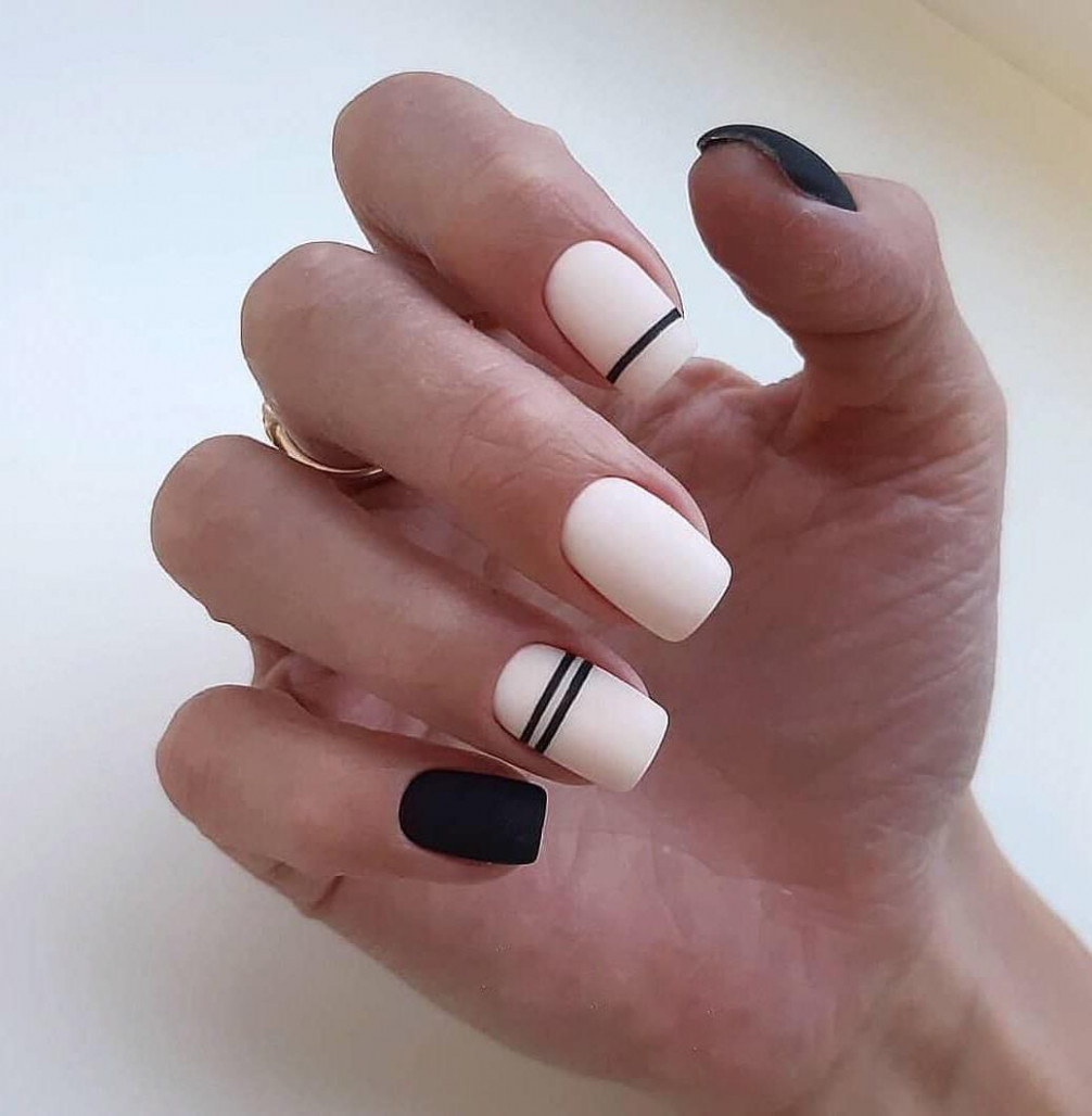 10 Trendy Stunning Manicure Ideas For Short Acrylic Nails  Short  - Trendy Nail Ideas