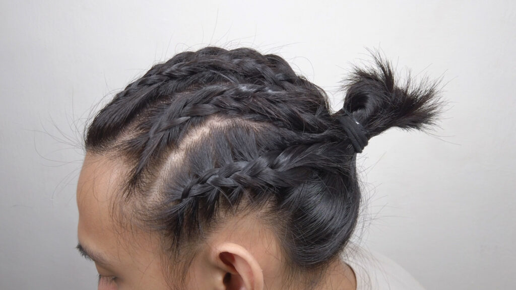 Awesome French Braids Men