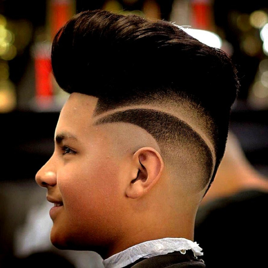 11+ Awesome Stylish Hairstyles - Ceplukan  Boy hairstyles, White