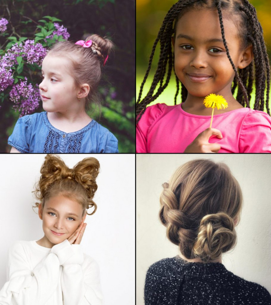 11 Super Easy Hairstyles For Girls