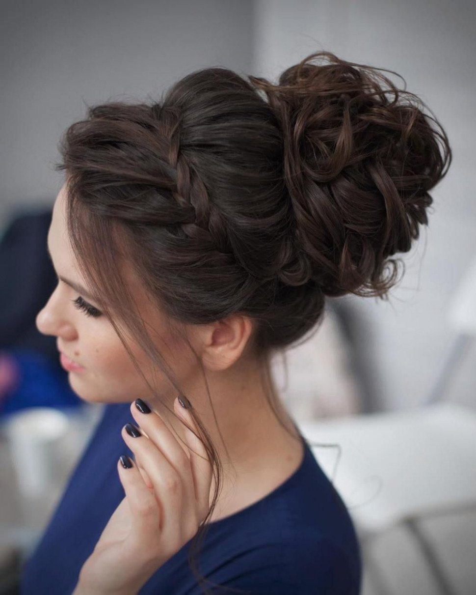 12 Most Delightful Prom Updos for Long Hair in 12  Curly