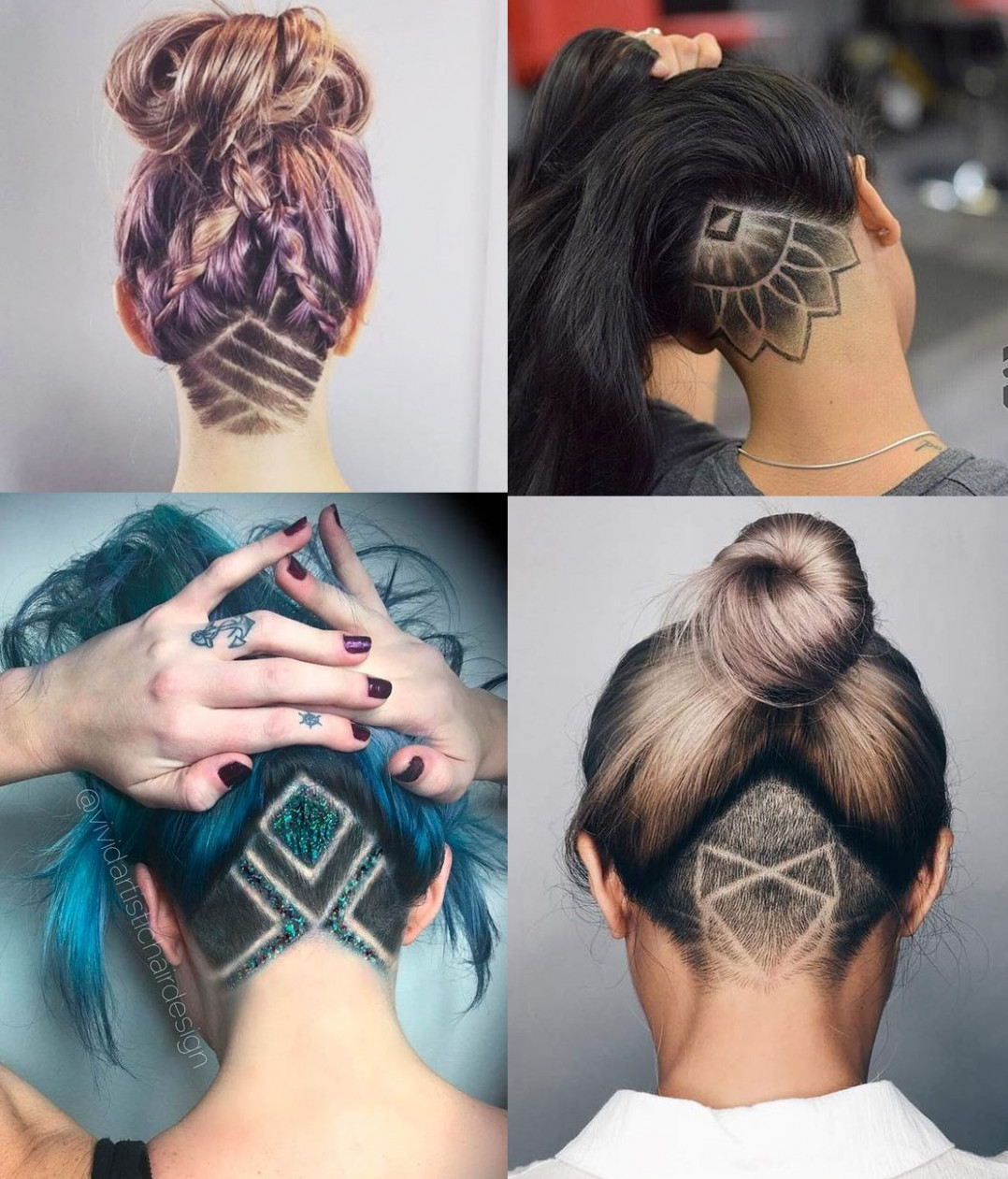 12 of the Best Nape Undercut Hairstyles