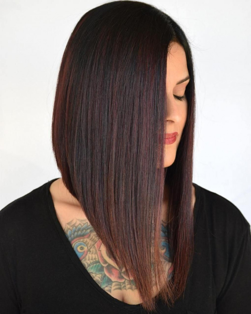 8 Latest A-Line Bob Haircuts to Inspire Your Hair Makeover - Hair  - Long A Line Bob