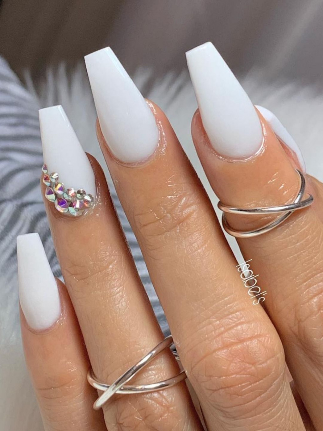 9+ Best Coffin Nails Ideas That Suit Everyone  Cute summer