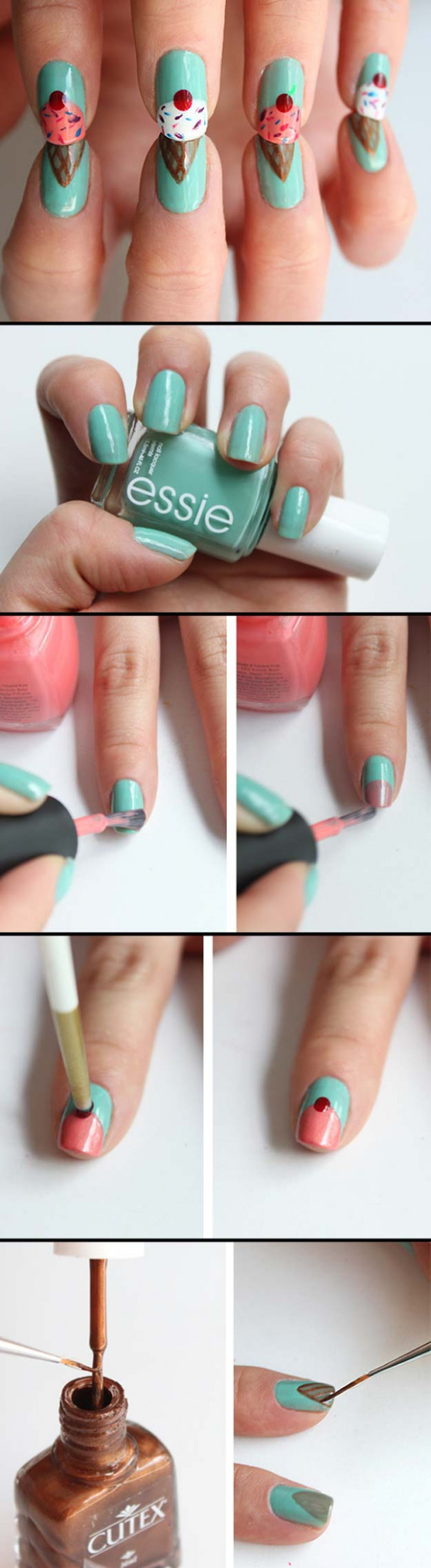 9 Cool Nail Art Designs for Teens - The Goddess