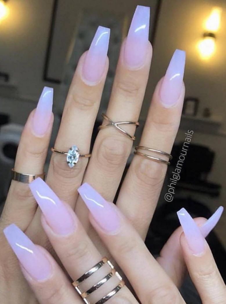 Acrylic nail art designs and ideas are very popular nowadays and  - Trending Acrylic Nail Designs
