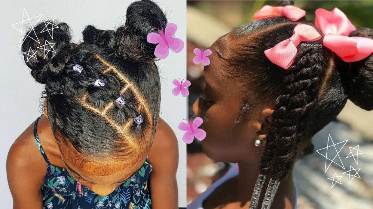 ADORABLE LITTLE BLACK GIRL NATURAL HAIRSTYLES COMPILATION 8💕🦋 I LOW  KEY EXTRA EDITION💕🦋