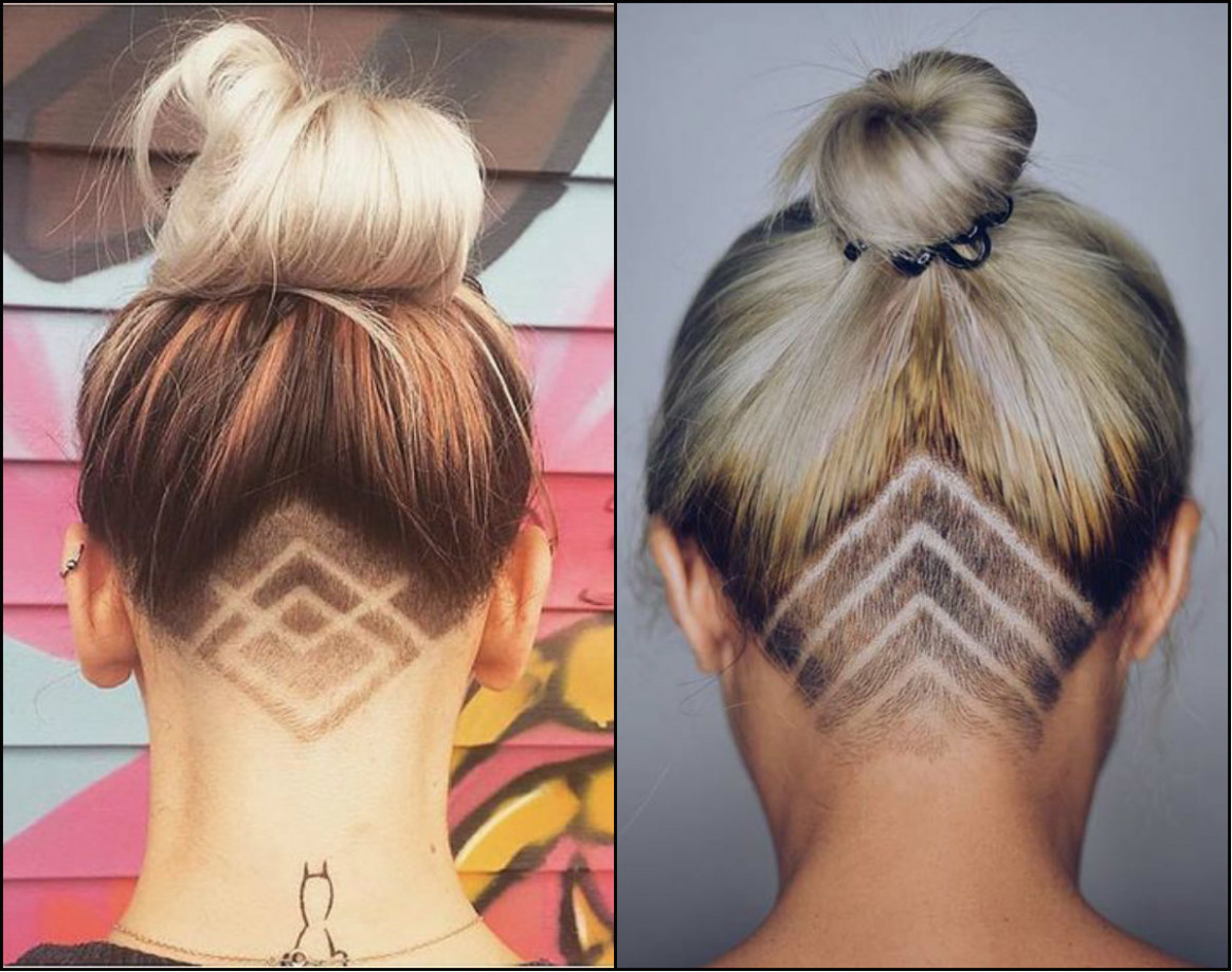 Cool Undercut Female Hairstyles To Show Off - HairStyle 9 - Undercut Haircut Women