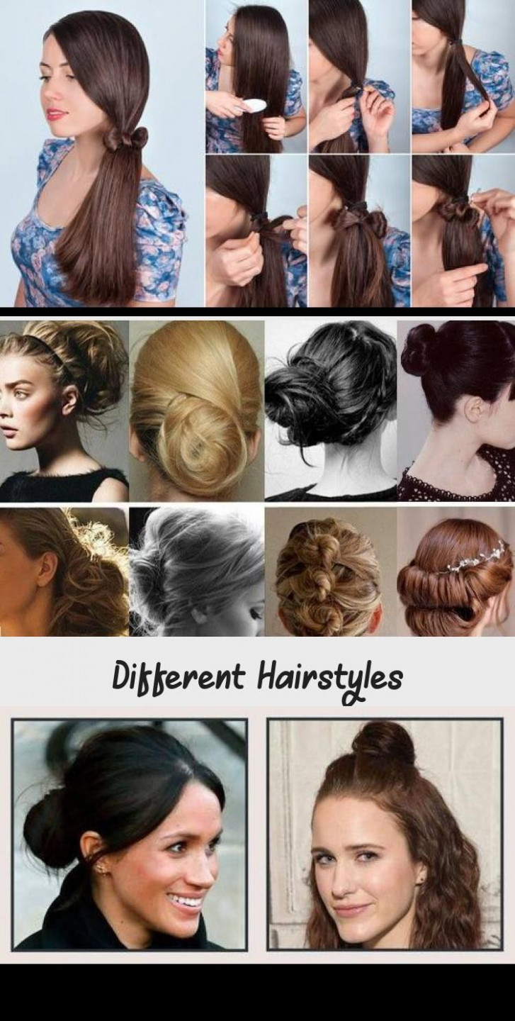 Different Hairstyles in 8  Hair styles, Different hairstyles  - Different Hairstyles