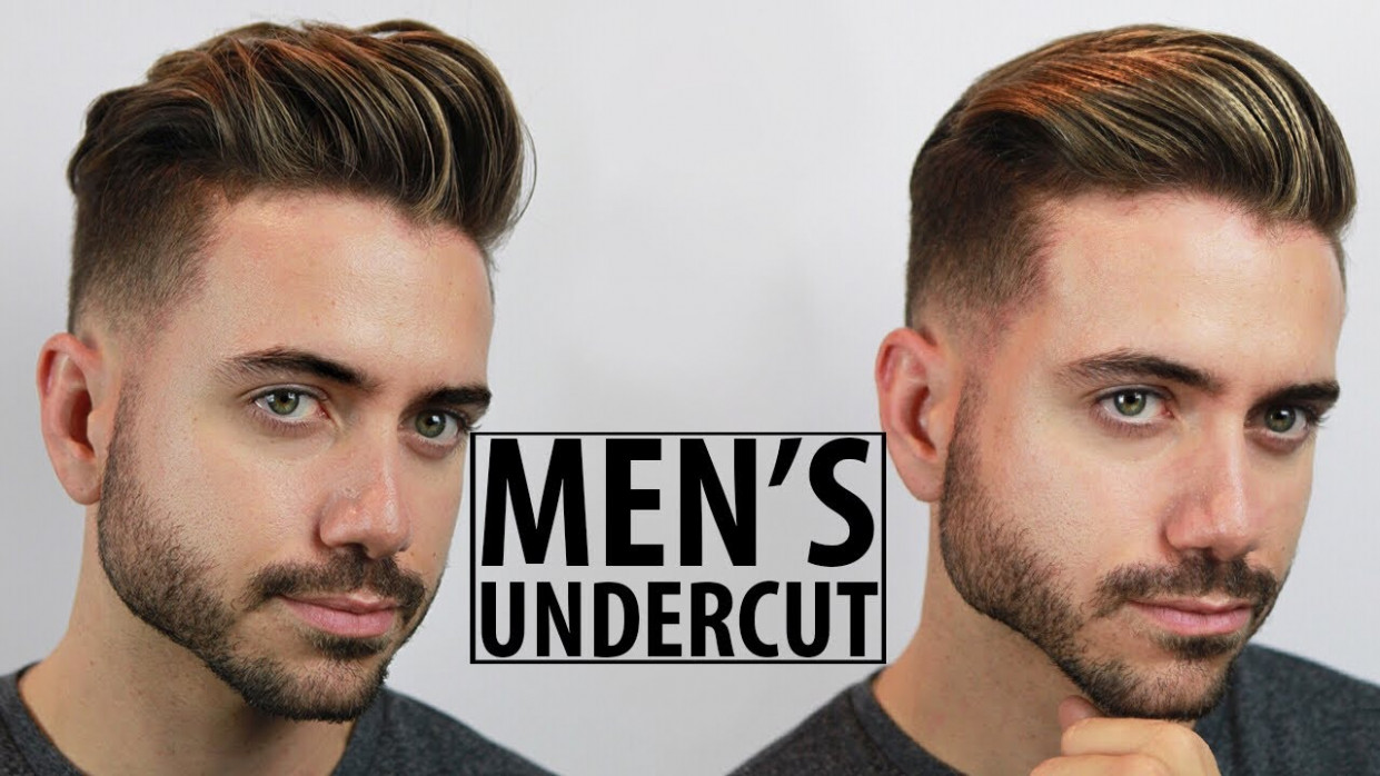 Disconnected Undercut - Haircut and Style Tutorial  11 Easy Undercut  Hairstyles for Men  Alex Costa
