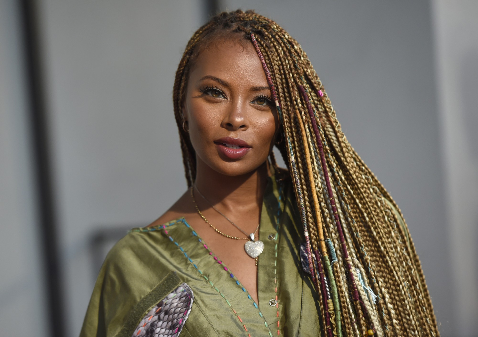 Eva Marcille Shows Off Her Baby Hairs In These Photos  Celebrity