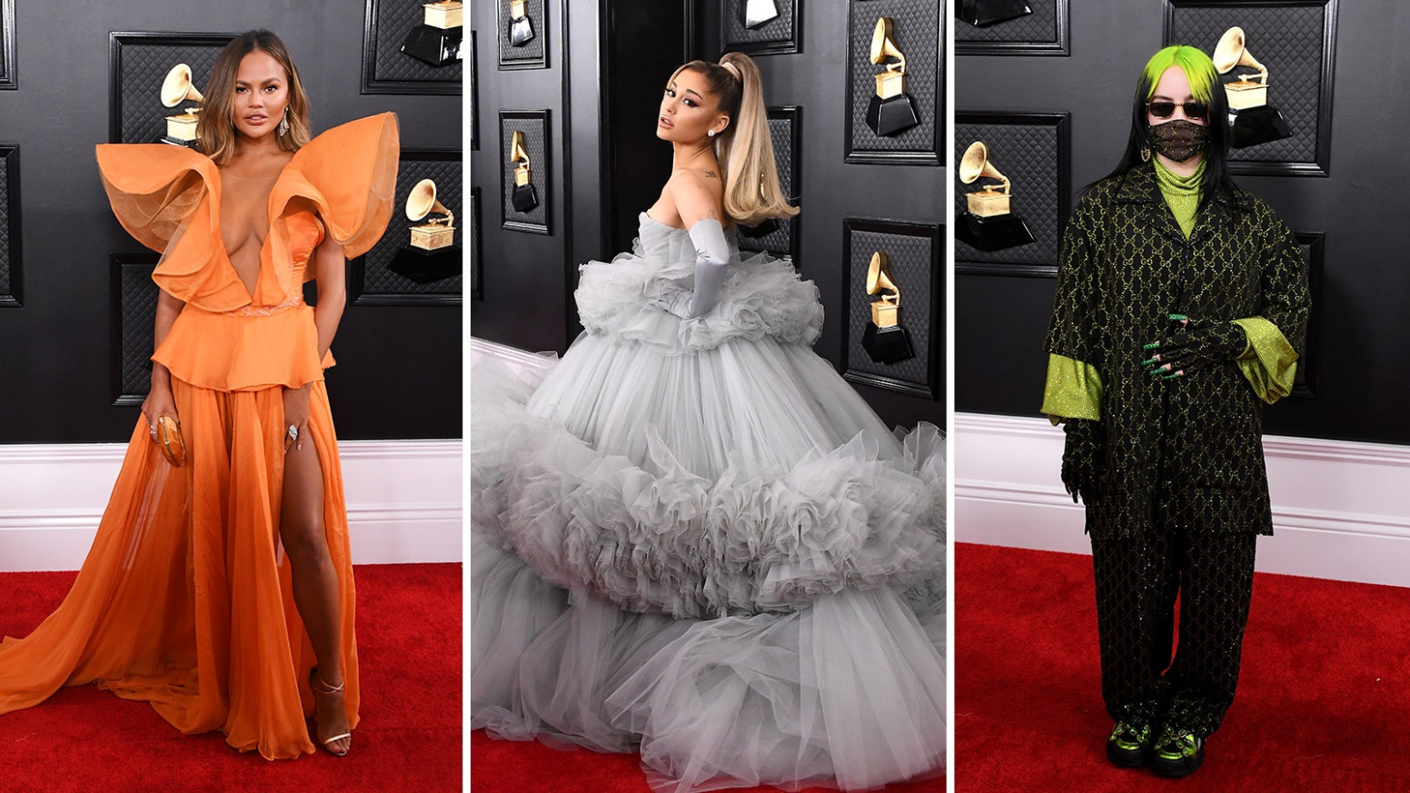 Grammys 8: The Best-Dressed Celebrities on the Red Carpet  Glamour