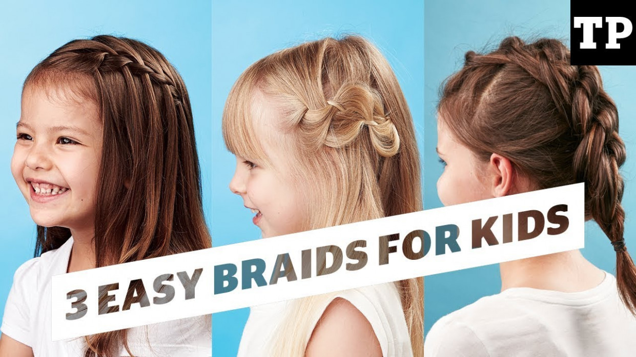 How To: 9 super easy braid ideas  Hairstyles for Kids