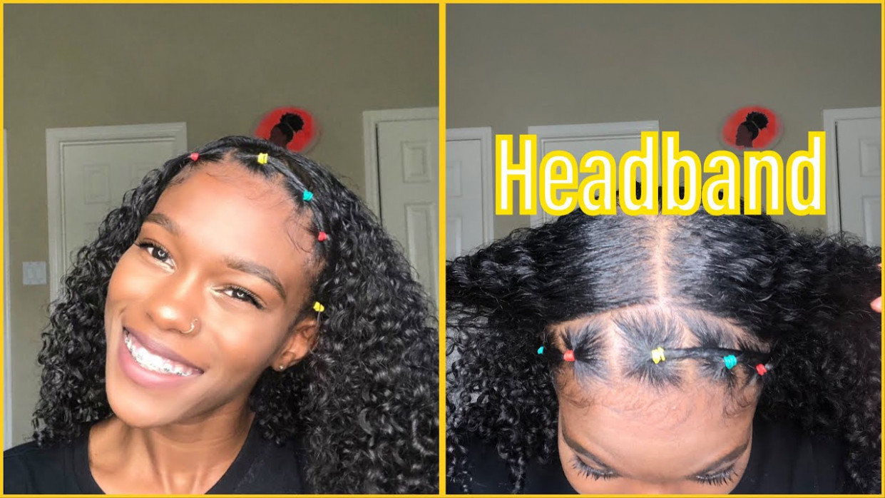 How To: Rubber Band Headband  Natural Hair