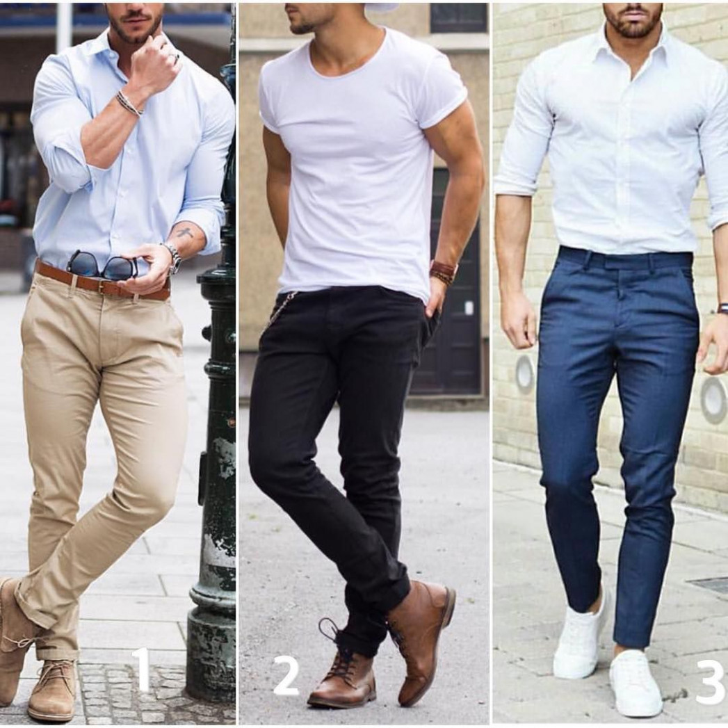 """Modern Men Casual Style on Instagram: """"8,8 or 8? Pick your  - Casual Style"""