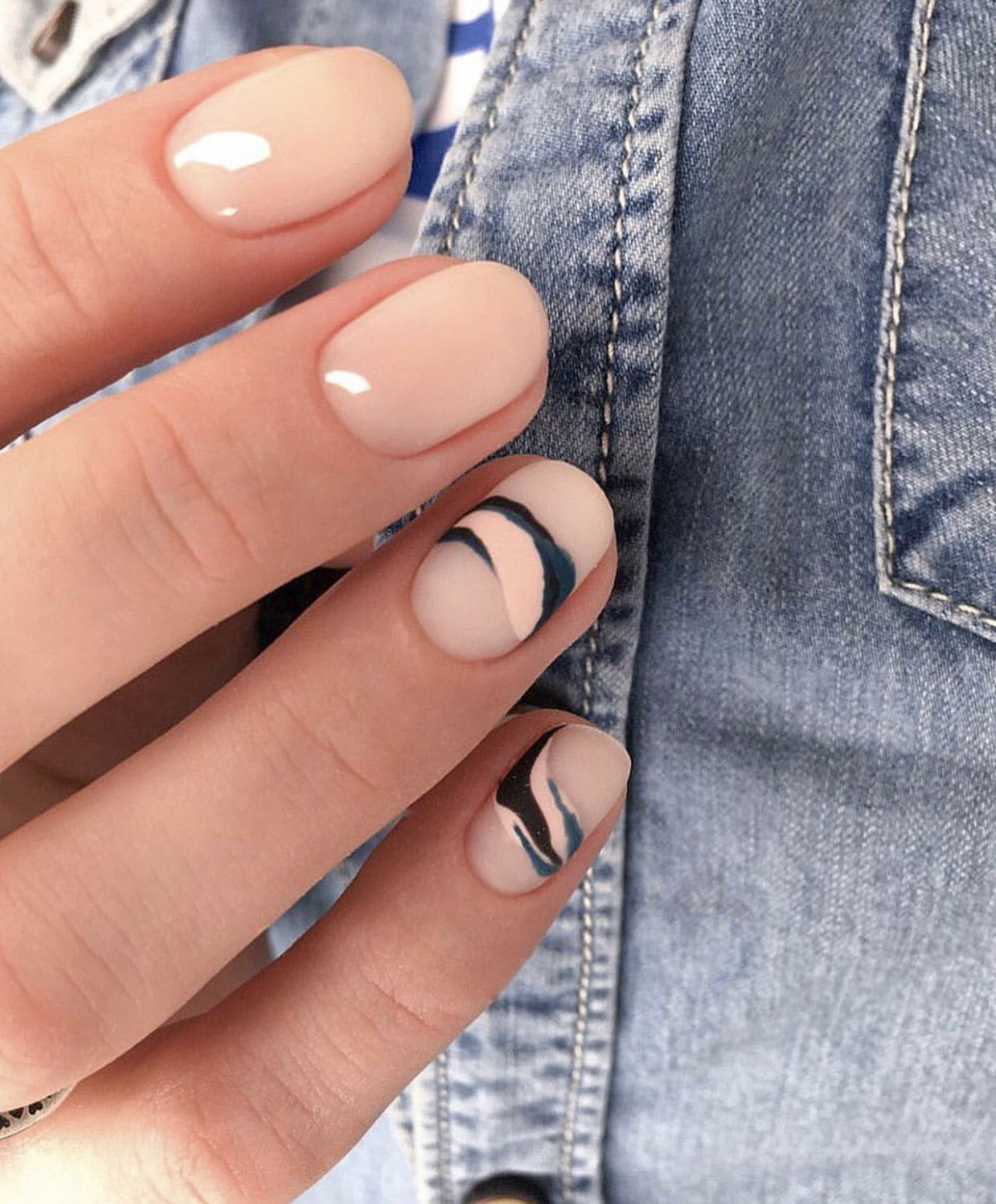 Pin by FaithKith . on Manicures  Solid color nails, Minimalist