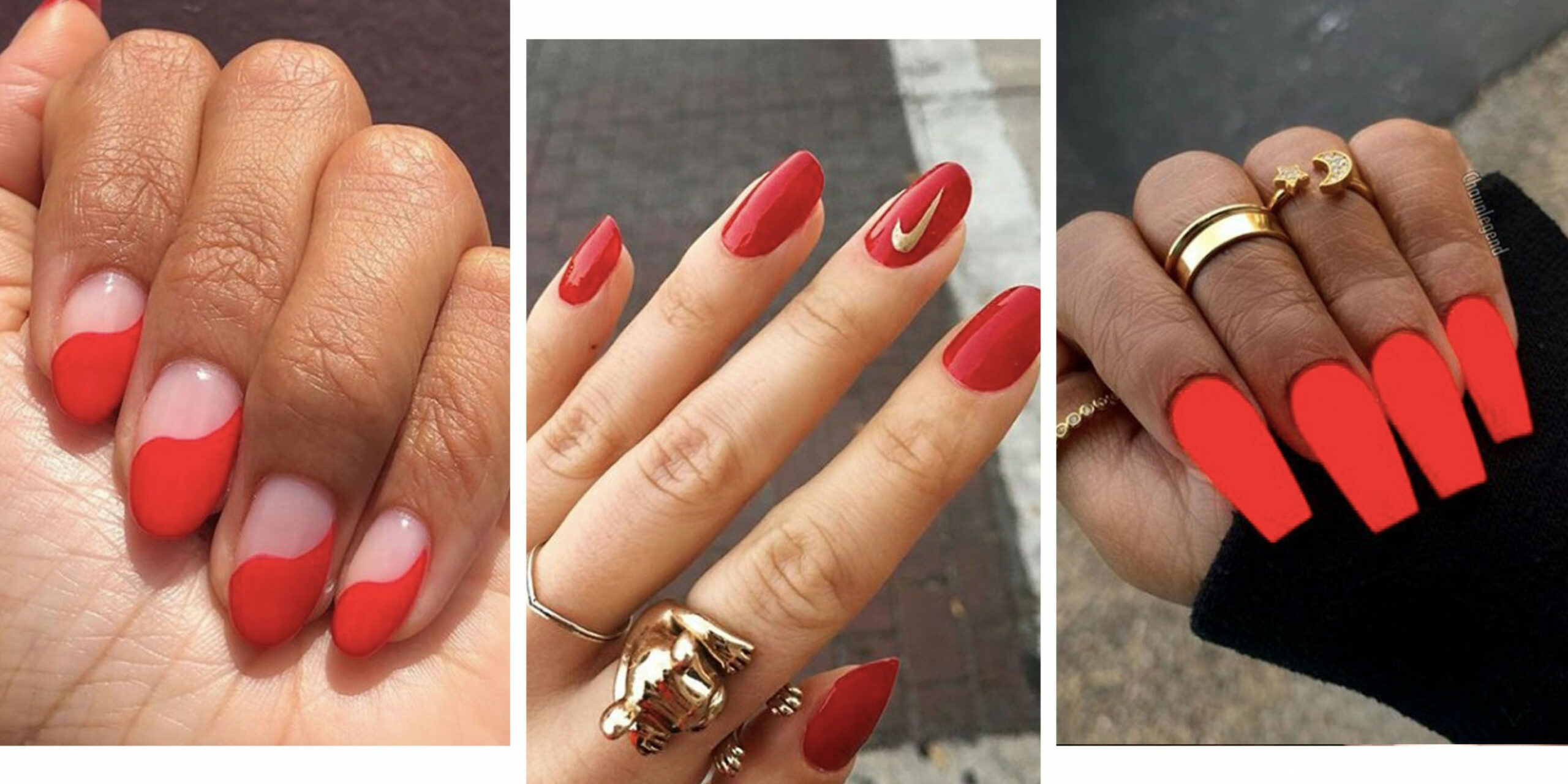 Red Nails - 10 Red Nail Art Designs That Are Anything But Boring