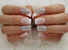 Simple and nice nail art 💅💅  Ombre gel nails, Gel nail designs