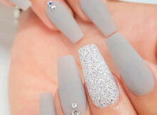 The Best Gray Nail Art Design Ideas  Stylish Belles in 10