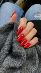 10 Creative Red Acrylic Nail Designs to Inspire You