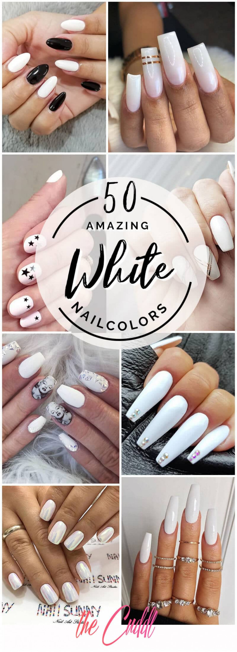 10 Fun and Fashionable White Nail Design Ideas for Any Occasion in