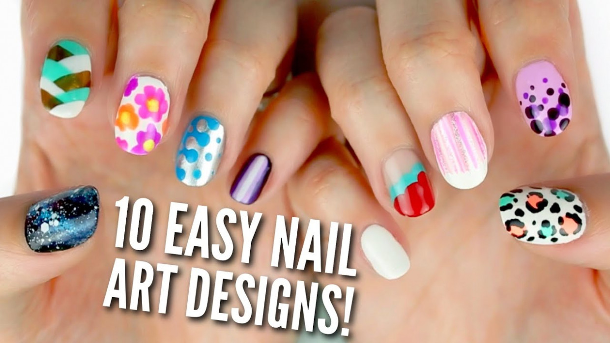 11 Easy Nail Art Designs for Beginners: The Ultimate Guide!