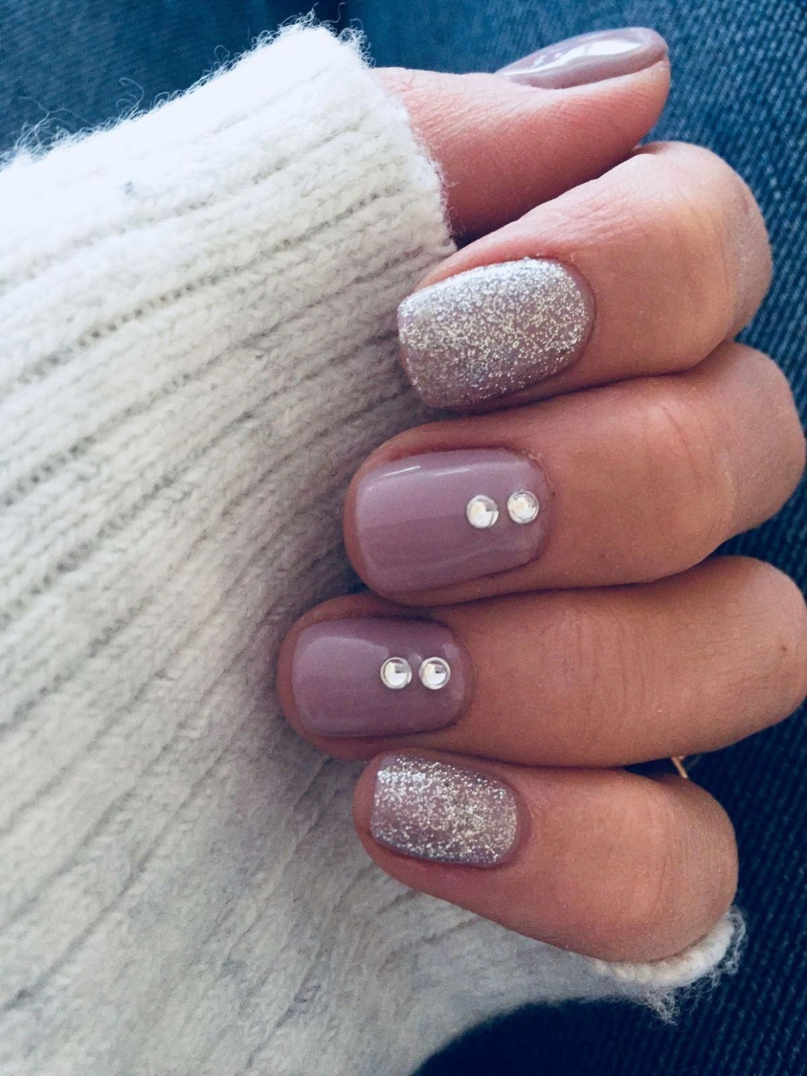 8 Easy Winter Nail Designs that are Perfect to Try  Fall gel