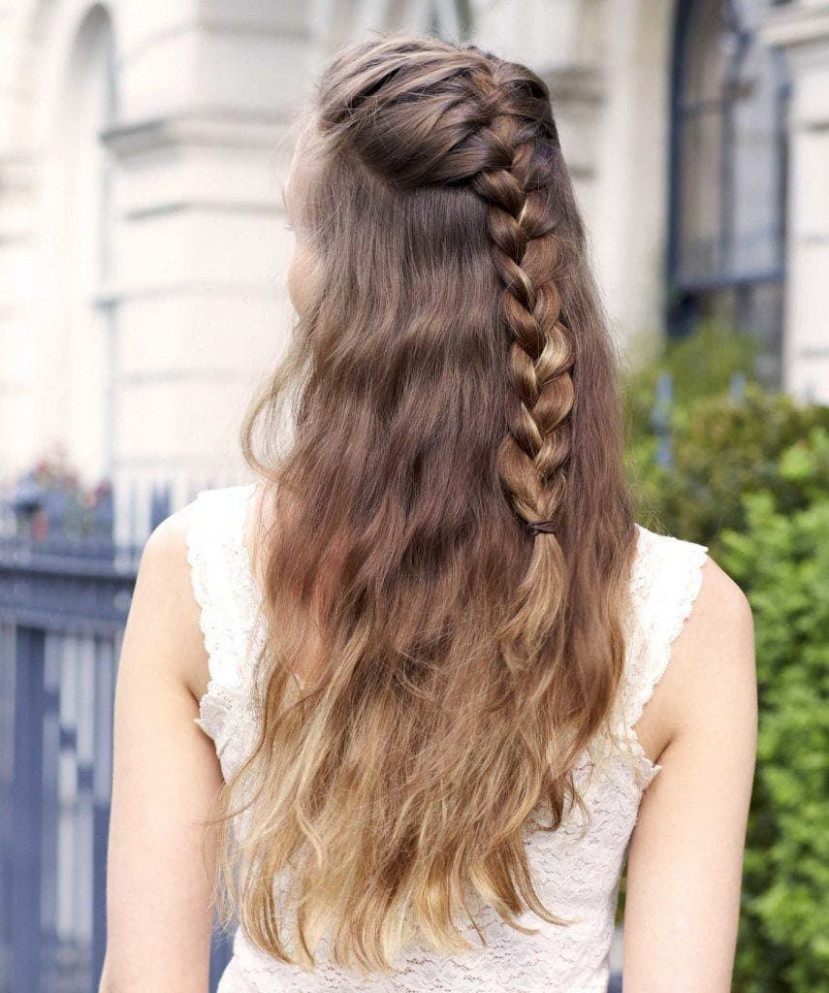 9 Seriously Easy Braids For Long Hair (9 Update)
